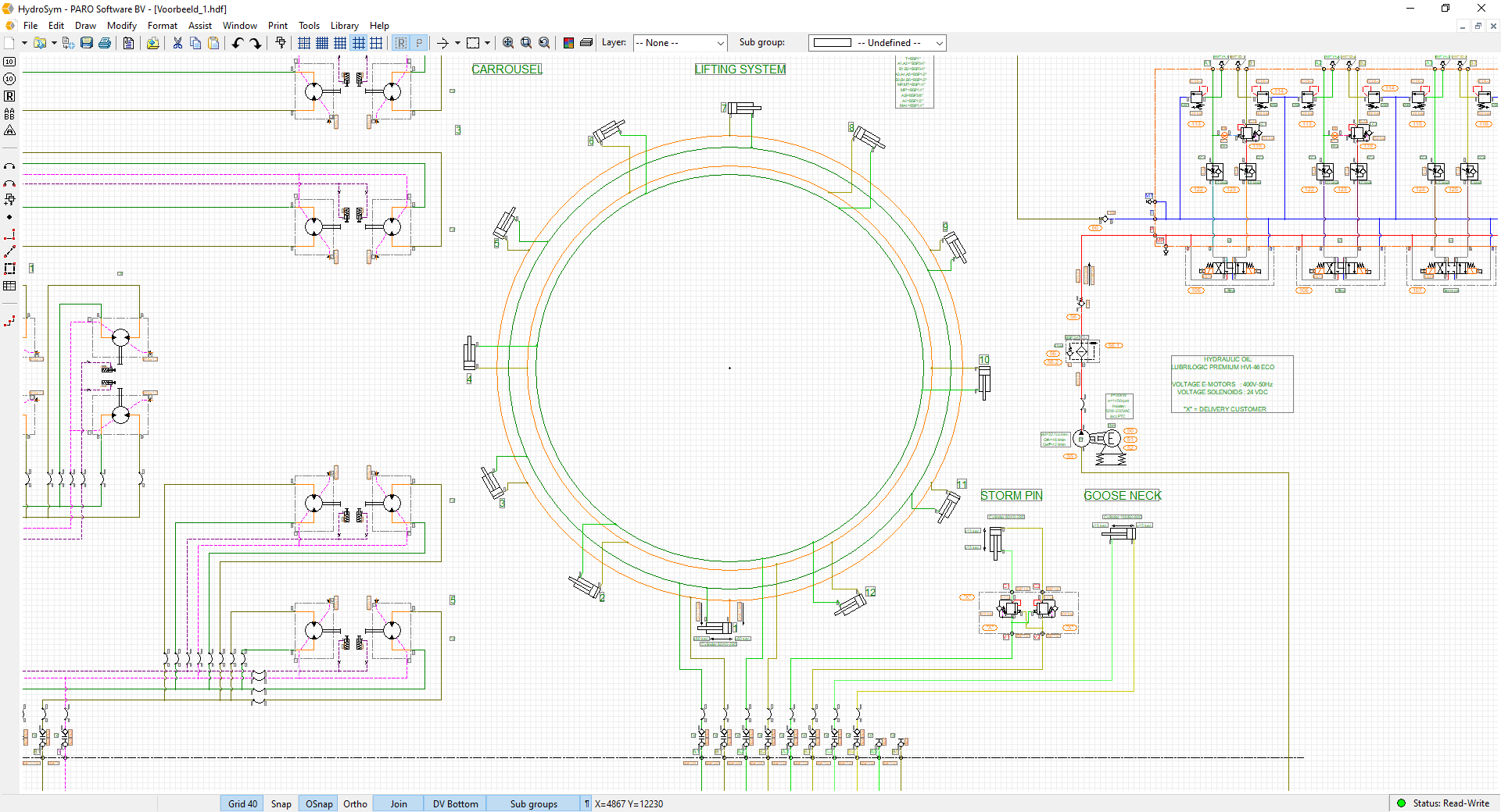 Hydrosym Paro Software